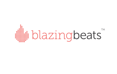 Blazing Beats Logo